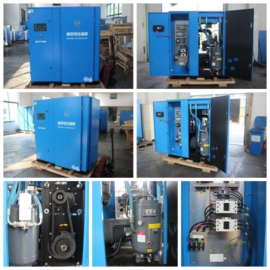 Screw Air Compressor for Food Industriel for Sale pictures & photos