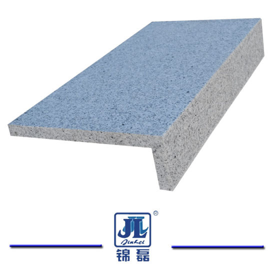Hot Selling Natural Chinese Sesame Dark Grey Granite Flamed Surface Bullnose Edge Pool Coping pictures & photos