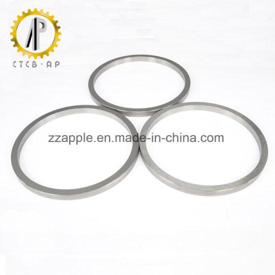 China Hard Metal Tungsten Carbide Flat O-Ring Seal Rings - China ...