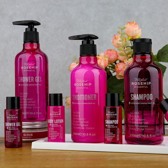 OEM Natural Organic Rosehip Oil Moisturizing Hair Care Shampoo