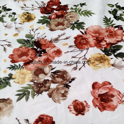 Printed Velvet Fabric Sofa Fabric Bonded T/C Fabric pictures & photos
