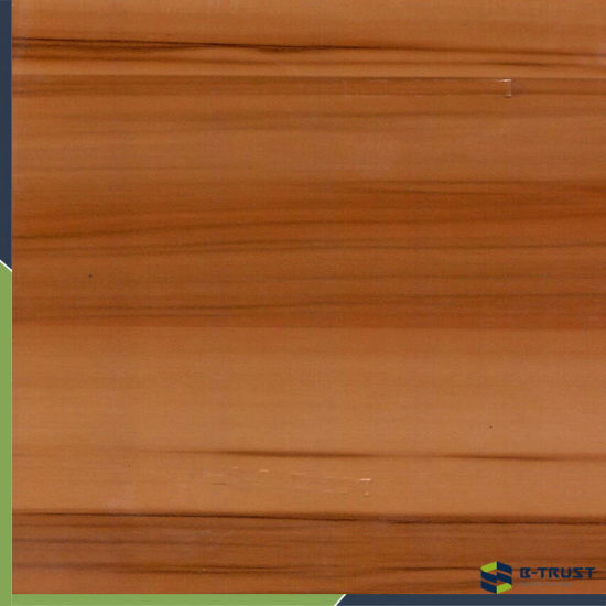 Wood Grain PVC Wrapping Film for Coating MDF Panel/Profiles
