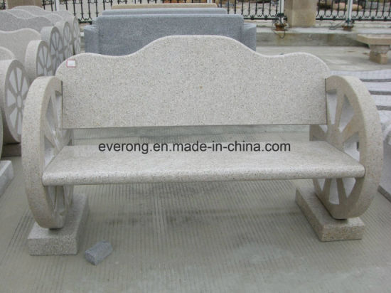 Awesome Classic Design Light Grey Granite Garden Stone Bench With Back Frankydiablos Diy Chair Ideas Frankydiabloscom