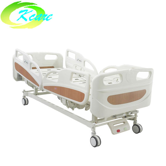Patient Examination ABS Bedboard Vibrating Double Adjustable Hospital Bed