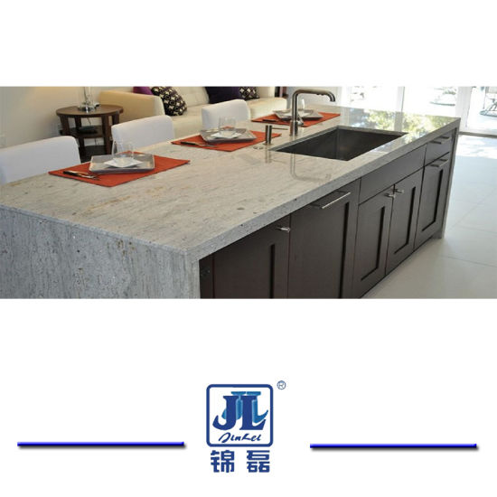 China Polished River White Granite For