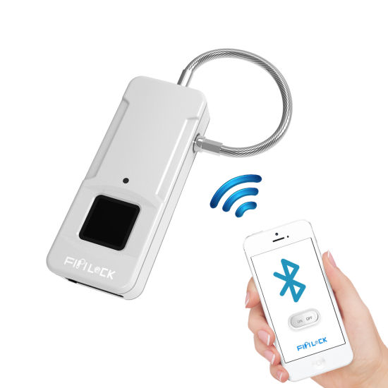 97e1fddd6f94 China Intelligent Mini Keyless Bluetooth Padlock Fingerprint Luggage ...