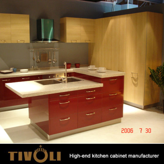 china factory direct sales aluminium laminate kitchen cabinet modern