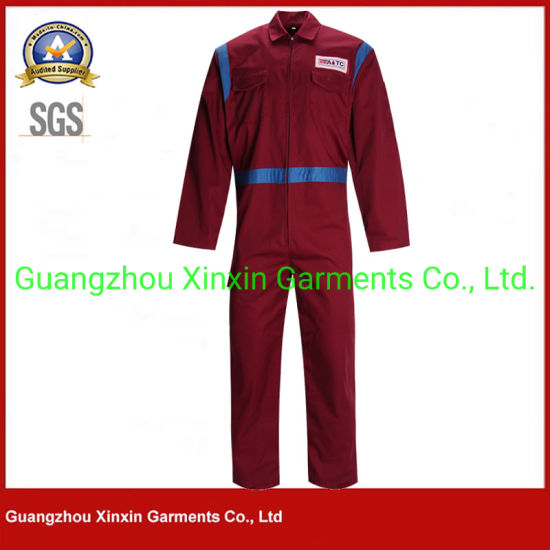 Breathable Cotton Work Wear Uniform Safety Coveralls Overall for Men (W902)