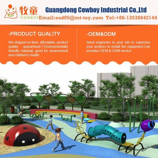 China 2019 Free Design Safety Flooring Outdoor Park Playground