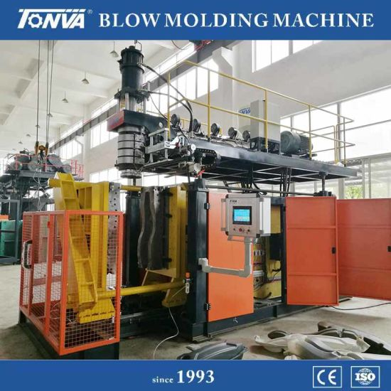 Plastic Pontoon Floating Production Extrusion Blow Molding Machine Accumulator Type pictures & photos