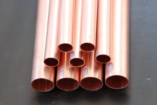 Good Price Straight Copper Pipe and Copper Tube for Air Conditioner and Refrigerator pictures & photos