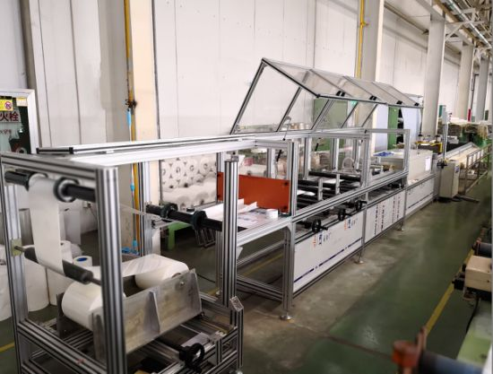 China Copper Bar Wrapping Machinery, DuPont Polyester Film Forming