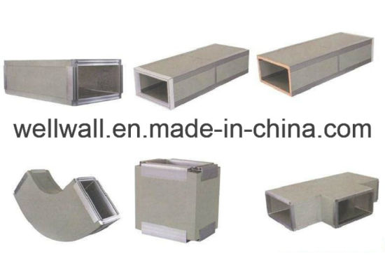 China Phenolic Foam Pid Hvac Duct Panel Wellwall China