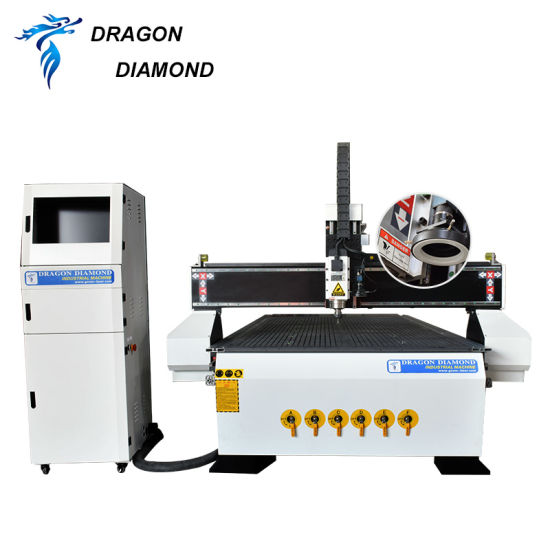 CCD Camera Automatic Patrol CNC Router Plywood 3D Advertising/Wood CNC Cutting /Engraving Machine for Wood Acrylic Plastic Aluminium