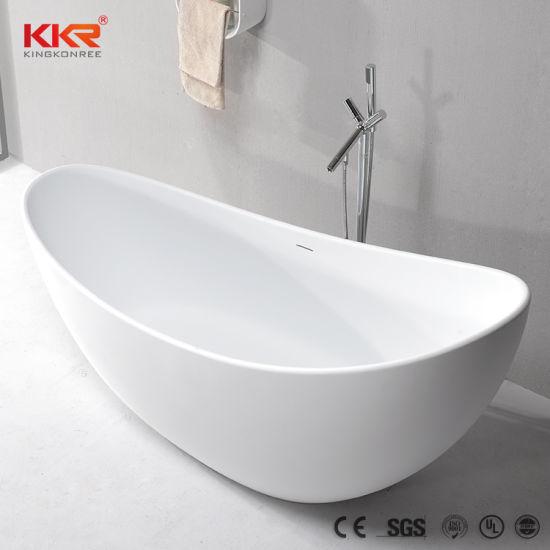 Sanitary Ware Indoor Bathroom Solid Surface Freestanding Tubs