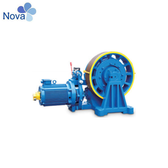 Nova Elevator Parts, Vvvf Elevator Geared Traction Machine Motor,   pictures & photos