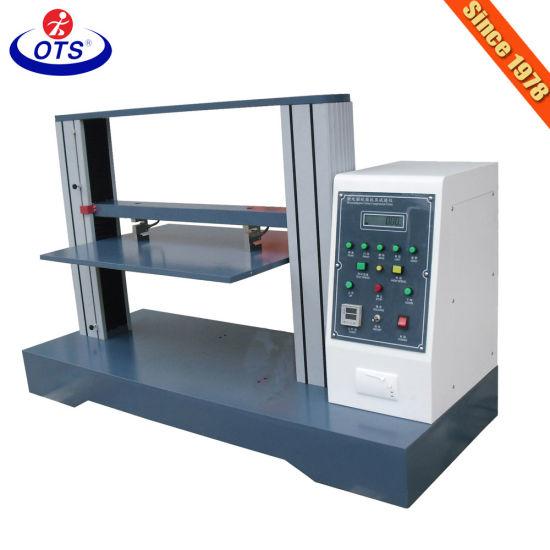 Computer Servo Control Carton Compression Strength Testing Machine