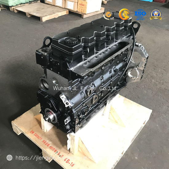 Dcec Cummins Qsb6.7 Cylinder Long Block Dcec Construction Machine Diesel Engine