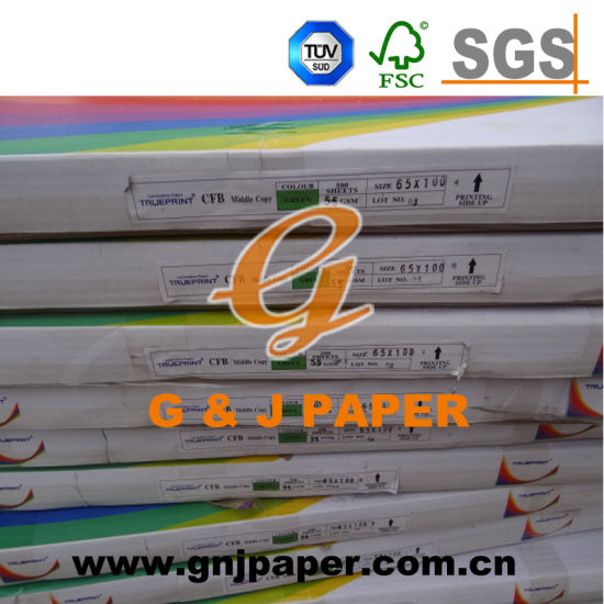 610*889mm Coated Front and Back Carbonless Paper for Invoice Book pictures & photos
