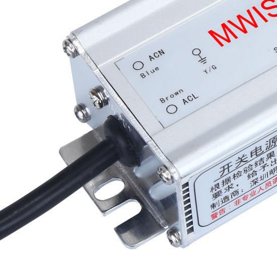 China 60W 12V/15V/24V/48V Rainproof Switching Power Supply