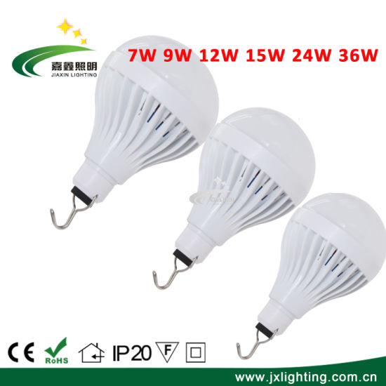 LED Bulb Suppliers Rechargeable 24W Bulb Light Low Voltage USB Lamp