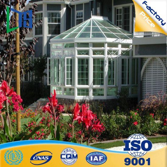 Experienced Manufacturer Aluminium Pool Enclosures Prefabricated Glass  House for Villa Pool Prefab Sunhouse
