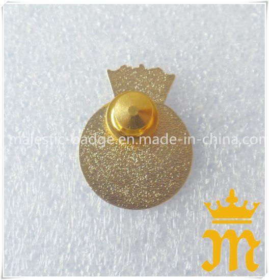 Customized Lapel Pin Plating Gold & Soft Enamel (MJ-PIN-132)