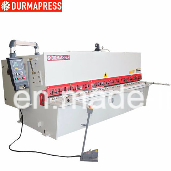 China Shearing Machine for 6mm 3200mm Steel Plate Cutting