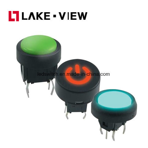 SGS Illuminated Dustproof Waterproof Micro 6*6mm LED Illuminated Tact Switch pictures & photos