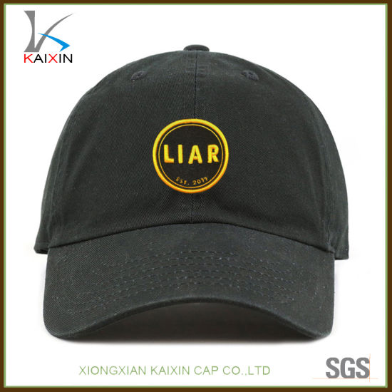 9aff1f26aaa4c China Custom Embroidery Patch Unstructured Dad Hats Dad Caps - China ...