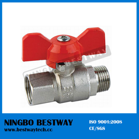 Brass Ball Valve with Butterfly Handle (BW-B50) pictures & photos