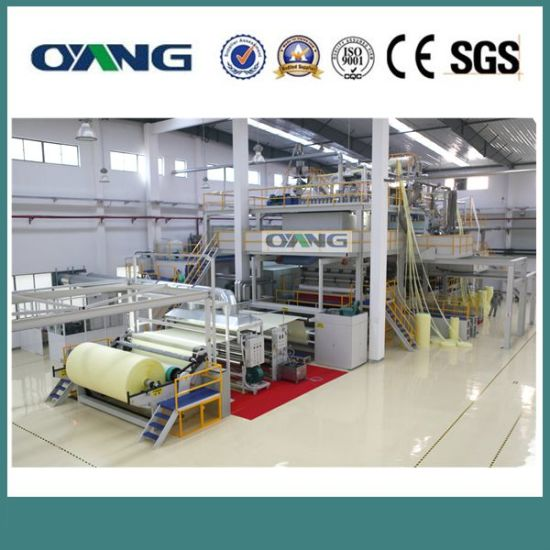 Single Beam PP Non Woven Fabric Making Machine