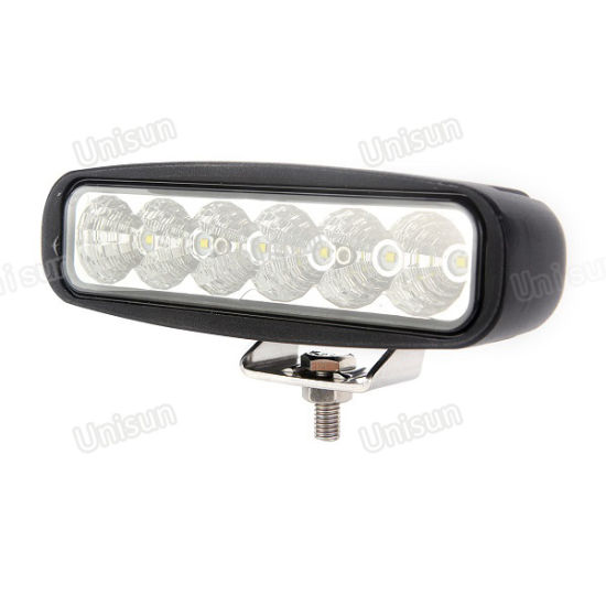 """6"""" 12V 18W Auxiliary LED Tractor Work Lights"""