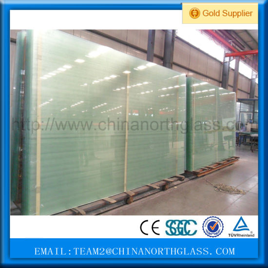 Acid Etched Glass Wall Decorative Panelsb 10mm Decorative Acid Etched Glass Price pictures & photos