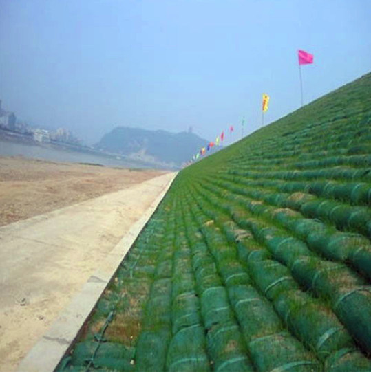 Eco Friendly PP Customized High Tensile Geobag for Embankment