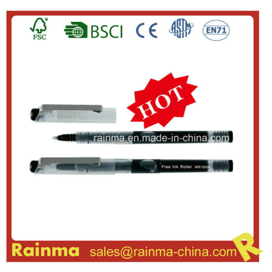 Free Ink Roller Pen for Stationery Supply