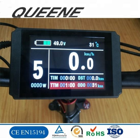 Queene/Electric Bike Parts Ebike Accessory for Electric Bike TFT Colorful Display