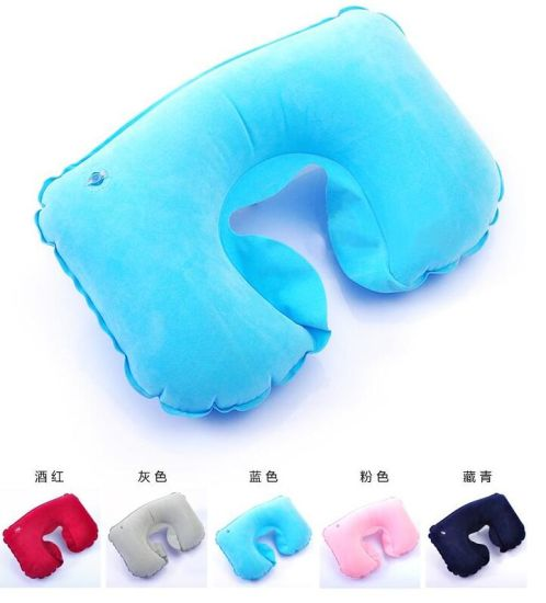 2016 Hot Sell Inflatable Travel Pillow pictures & photos