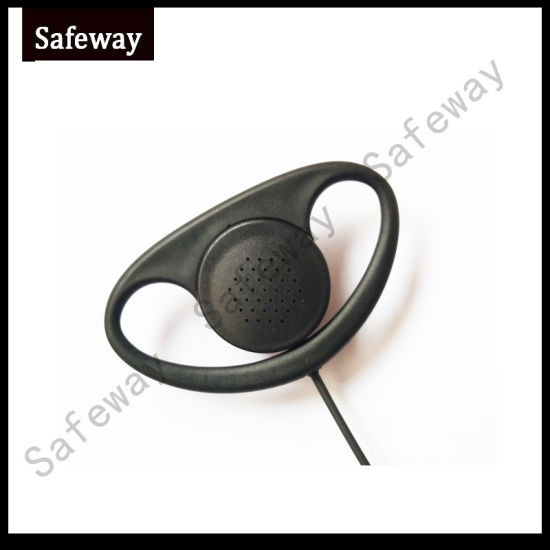 D Ring Earhook Earpiece for Kenwood Walkie Talkie pictures & photos