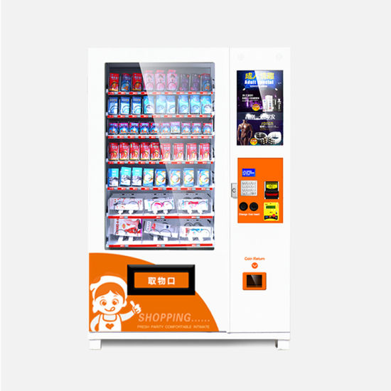 Afen Automated LCD Screen Adult Products Health Condom Vending Machine