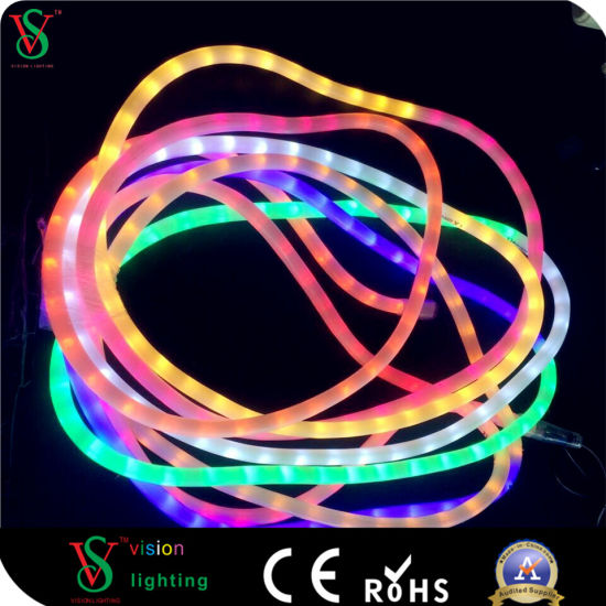 China rainbow night popular flexible rope light for christmas rainbow night popular flexible rope light for christmas decoration aloadofball Gallery
