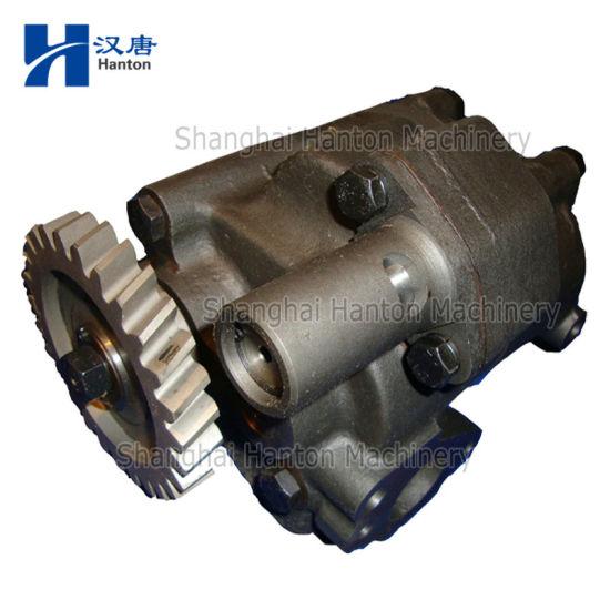 Komatsu 6D155 Diesel Engine Motor Parts 6128521013 hydraulic oil pump