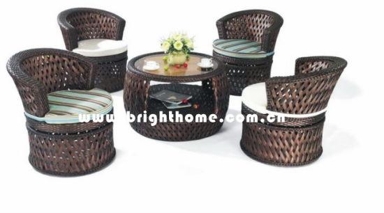 Elegant Modern Leisure Patio Outdoor Rattan Furniture