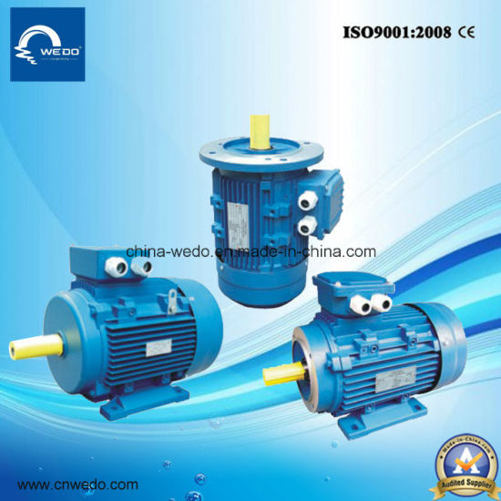 Ms Series Three-Phase Asynchronous Electric Motor with Aluminium Housing (2pole, 4pole, 6pole, 8pole) pictures & photos