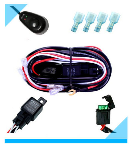 china manufacturer automotive car light wire harness china rh starconnect en made in china com
