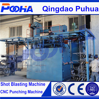 Q38 Hanging Chain Catenary Through Shot Blasting Machine pictures & photos
