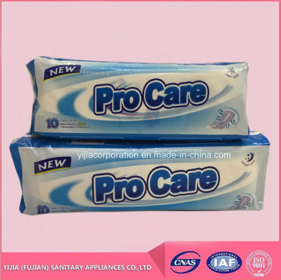 Wholesale Sanitary Pads for Girls with Blue Printing pictures & photos