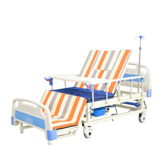 Automatic Adjustable Rehabilitation Patient Multifunction Electric Hospital Bed