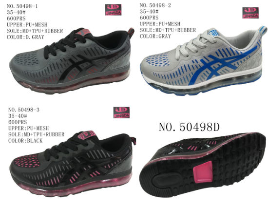 50498 Lady′s Sport Stock Shoes