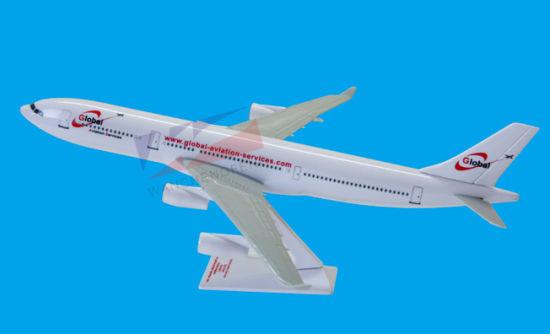 Scale 1: 200 A330 Plastic Airplane Model - China Plane Model